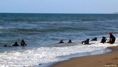 Photo of شاطئ الصخرة ببلدية الحمامات.. حيث لا تسبح إلا النساء!