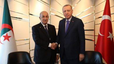 Photo of أردوغان في زيارة رسمية للجزائر