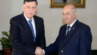 Photo of حكومة السراج تقبل باحتضان الجزائر الحوار الليبي