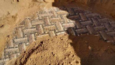 "Photo of ""فسيفساء تبسة"" قد تعود للحقبة الرومانية"