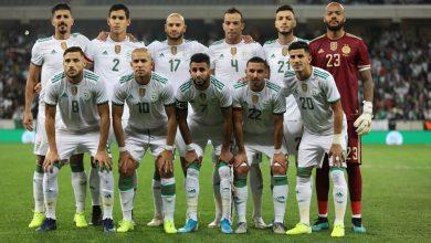 Photo of الخضر في المجموعة الأولى تحسبا لتصفيات كأس العالم